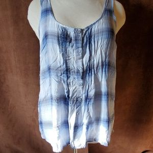 Torrid tank with open back size 2x